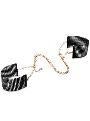 DESIR METALLIQUE Cuffs, Handschmuck, Handschellen schwarz, gold, silber