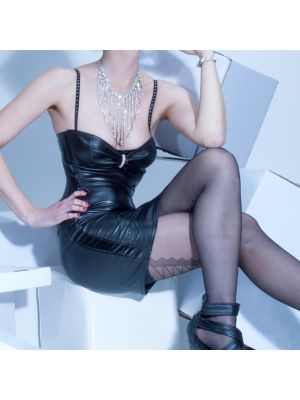 ALANA Bustierkleid in Wetlook