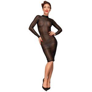 Klassisches Kleid aus weichem und elastischen Tüll